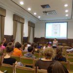 Dr. Papp Anette tanárnő előadása a graduálokról