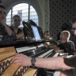 Orgonabemutató a Budapest-Fasori református templomban