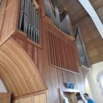 Orgona óra az evangélikus templomban