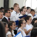 Kórus éneklés a Pozsonyi úton